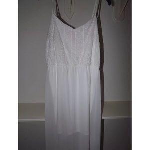 Charming Charlie White Maxi Dress